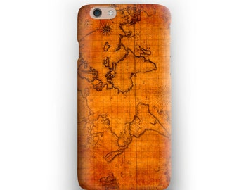 Map Vintage iPhone 6s Case iPhone 6s Plus Case iPhone 6 Plus Case iPhone 6 Case iPod Touch 5G Case iPhone 5s Case World Map Vintage Old