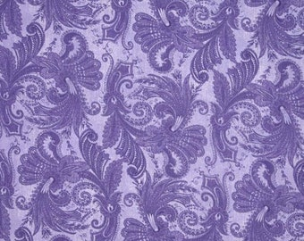 "108'' Wide Quilt Backing Marrakesh Purple Fabric 4726 1009 /  108"" Inch wide Fabric  / Wilmington Prints Fabrics / Wide Backing Yardage"