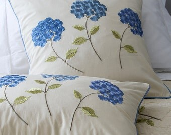 Set of Machine Embroidery Designs - Hydrangea (7 in 1)