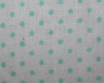Green Polycotton Fabric Dress/Craft Fabric
