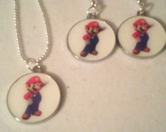 Super Mario Brothers earrings