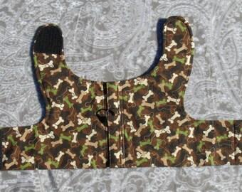 basic harness camouflage bones