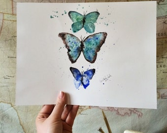 Les Papillon Bleus