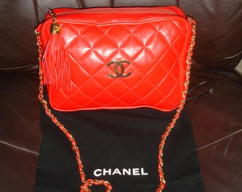 Gorgeous hard to find Vintage Chanel bag from early 70's