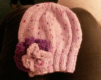 adorable baby girls winter hat