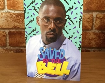 The Wire Parody Greetings Card Saved By The Bell