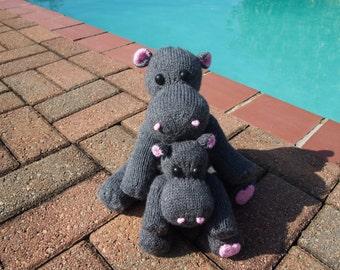 SztuchlikCamelia Knitted Hippos