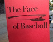 CHAPBOOK: The Face of Baseball by Robyn Ryle & WhiskeyPaper Press