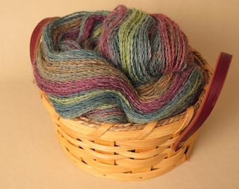 Hand Spun Yarn Alpaca 554 Yards DK Weight