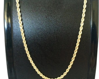 14K Yellow Gold Rope Chain 2.50mm
