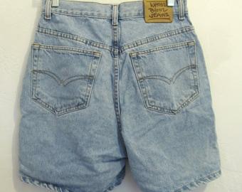 Woman's,Vintage 90's,Light Blue HI Waist Denim Short By WHOOZ BLOOZ.9