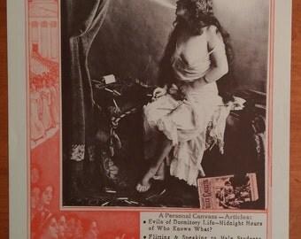"""Vintage Poster - """"College Bad For Girls?"""""""