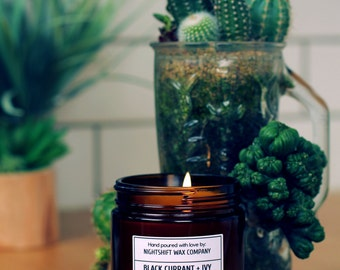 Black Currant + Ivy Soy Candle