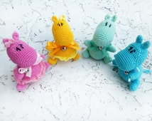 Miniature toys Dollhouse animal Amigurumi Keychain Phone accessory Key holder Charm keychain Miniatures Crochet toys Magnet Animal Brooch