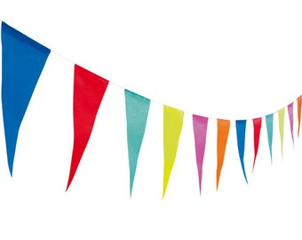Colourful Paper Bunting | Bunting Flags | Garland Bunting