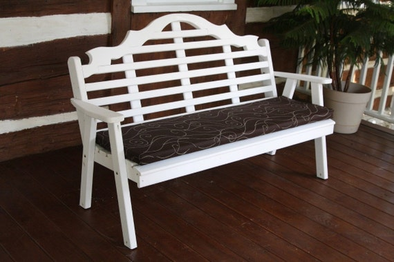 5-Foot Bench Swing & Glider Cushion ONLY 2-Inches Thick