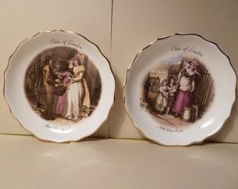 Set of 2, Royal Tuscan, Fine Bone China, Made in England
