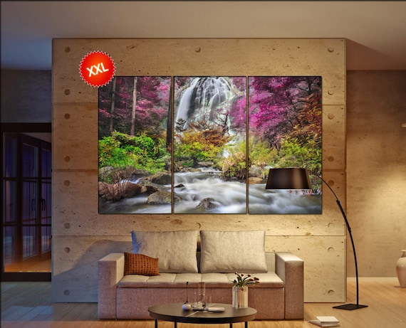 colorfull trees  canvas colorfull trees wall decoration colorfull trees canvas art colorfull trees large canvas  wall decor