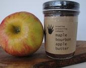 maple bourbon apple butter
