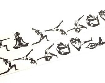 Yoga washi tape (T00365)