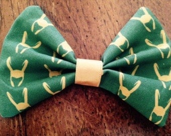 Loki hair bow