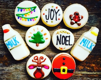 LOCAL ONLY Christmas Mini Cookies