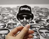 Scribbled Eazy E - Vinyl Sticker