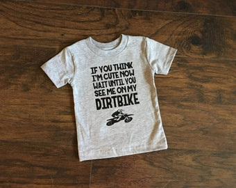 Baby Dirtbike shirt