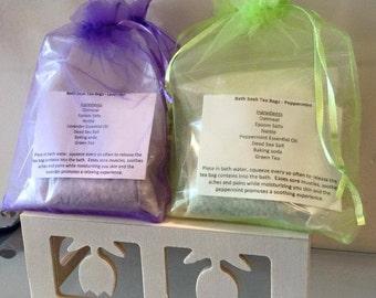 Bath Soak Tea Bag - 2 pack - bare naked beauty