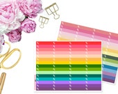Little Things Paperclips -- Matte Planner Stickers