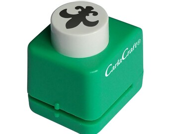 FREE UK SHIPPING Carla Craft Fleur De lis Mini Paper/  Card Punch - Symbolic Collection