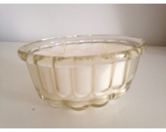 Vintage Jelly Mould Candle