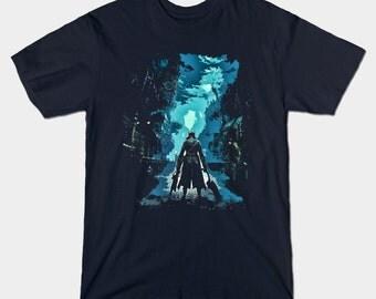 Bloodborne - Yharnam - men's t-shirt -  S, M, L, XL, XXL, 3XL, 4XL, 5XL