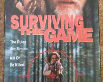 Surviving The Game on VHS Tape
