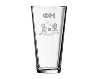 Phi Mu Mixing Glass