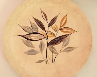 Midcentury Japanese Ceramic, Made in Japan, Kasuga Goldina Serving Platter, Goldina Pottery Pattern, Kasuga Pottery Ceramics