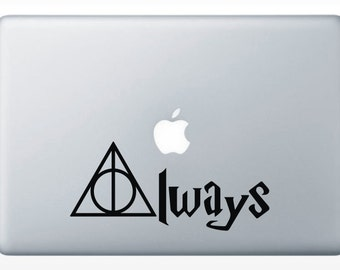 Always Deathly Hollows -Harry Potter -svg -ai -dxf -cdr -pat -jpeg -png - pdf - wmf - docx - Printable -  Laser Engraving - Iron on transfer