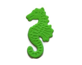 Small Embossed Sea Horse Paper Die Cut set of 30