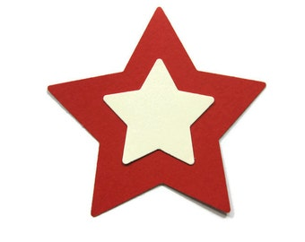 Paper Star Cut Out Paper Embellishment