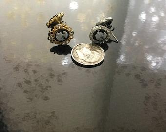 Miniature Cameo Earrings