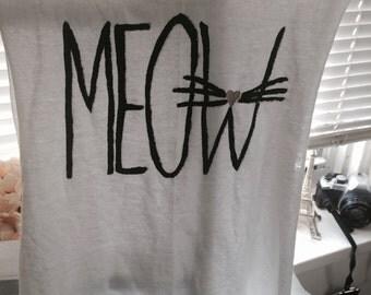 Meow Cat Shirt