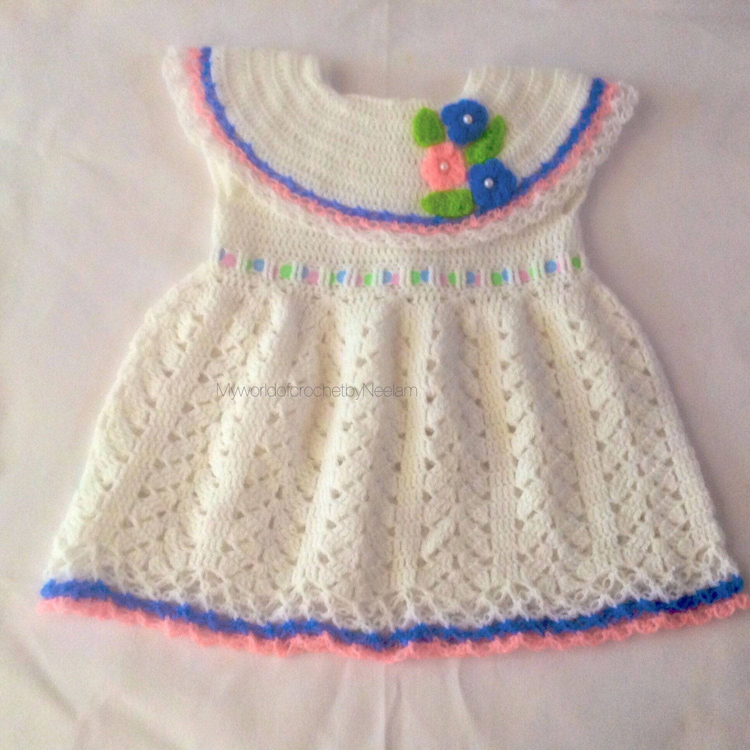 Little girl ruffle affair dress baby girl crochet dress zoom bankloansurffo Choice Image
