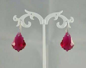 Baroque Swarovski Earrings
