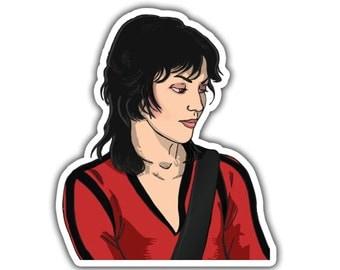 Joan Jett Sticker - Live in Japan
