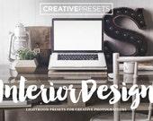 "10 Interior Design - Architecture Lightroom Presets for Photographers ""Interior Design"""