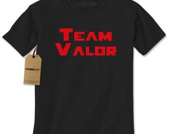 Men's Team Valor T Shirt Unisex Short Sleeve Phone Game Go Tshirt Gift for Him or Her #1335