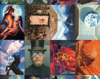Greg Hildebrandt Trading Card Set : Complete 90 Card Set Comic Images 1992