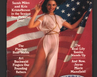 Mature Vintage Playboy Mens Girlie Pinup Magazine : July 1976 Good White Pages Intact Centerfold