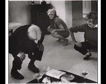 "Vintage Pinup Marilyn Monroe Sexy Pinup Wall Art Deco Book Print 9"" x 10.25"""