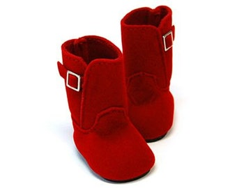 Suede Boots 45mm
